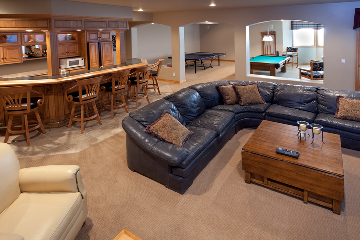 Great Uses for a Finished Basement