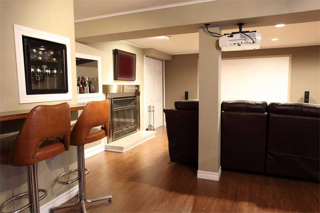 Let Your Dream Become Reality with Our Basement Remodeling Services